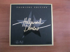Hollywood Domino Premiere Edition Party Tile Board Game. Complete & VGC