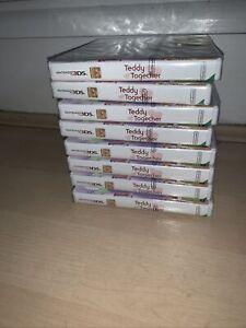 Bundle Of Teddy Together Nintendo 3DS Game New Sealed Job Lot