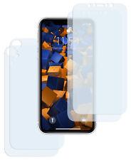 mumbi 2+2 Schutzfolie für iPhone XR Displayschutz 2x VORNE und 2x RÜCK Folie