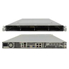 Supermicro CSE-815 1U Rack Server X9SCI-LN4F Socket LGA1155 for I3 E3-Socket