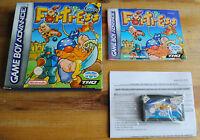 Jeu FORTRESS Complet sur Nintendo Game Boy Advance GBA