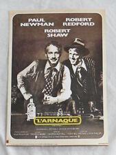 L'ARNAQUE PAUL NEWMAN ROBERT REDFORD mini-poster cartonné BON ETAT
