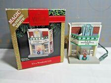 """1991 Hallmark QLX7237 """"It's A Wonderful Life"""" Ornament"""