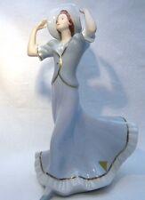 Royal Dux statuina ragazza con un cappello