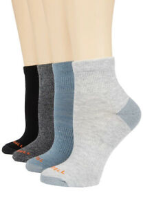 Merrell 4 Pair Of Quarter Length Midweight Cushion Socks