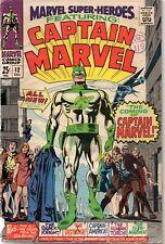 MARVEL SUPER-HEROES #12 1st app. Captain Marvel 1967 VG-