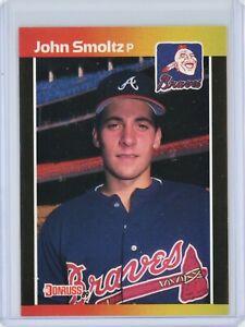 1989 Donruss #642 JOHN SMOLTZ Rookie RC (Braves) HOF