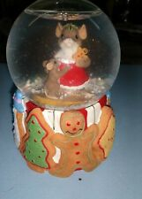 """Charming Tails Snow Globe """"Made Just For You"""""""