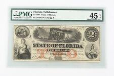 1864 Confederate $2 Note CXF-45 EPQ PMG Choice Extra Fine Tallahassee CSA Rebel