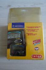 Rare Tatoo Motorola (Tamtam Tam Tam) neuf blister rigide (no nintendo sega)