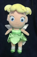 "12"" Disney Store Tinker Bell Fairy Peter Pan Toddler Plush Toy Doll Tinkerbell"