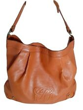 Louis Quatorze Genuine Leather Large Hobo Bag