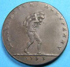 Manchester 1793 1/2 Penny Conder Token