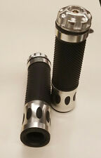 UNIVERSAL MOTORCYCLE AND  MOTORIZED BICYCLES  HAND GRIPS BLACK-.C
