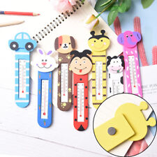 Cute Cartoon magnet Indoor Outdoor Office Home Garage Temperature Thermometer TB