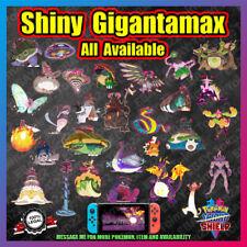 ALL Shiny GIGANTAMAX | Includes Isle of Armor GMAX | 6 IV| Pokemon Sword Shield