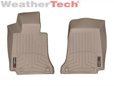 WeatherTech FloorLiner Mats for Mercedes C-Class / E-Class 1st Row Tan