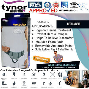 Tynor™ Unisex Inguinal Hernia Belt Groin Support Brace Truss With Removable Pads