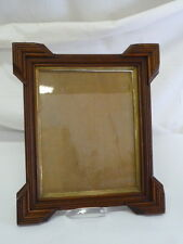 ANTIQUE EMPIRE STYLE WOOD FRAME WITH ANTIQUE GLASS