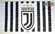 Juventus Flag Banner Italy Soccer 3x5 ft Football Soccer Calcio Turin NEW Stripe