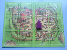 Carcassonne Mini expansión El Conde, a estrenar con las normas de inglés