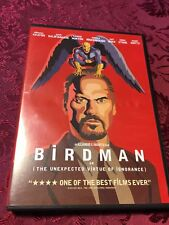 Birdman or (The Unexpected Virtue Of Ignorance) 2014 DVD Michael Keaton SEALED