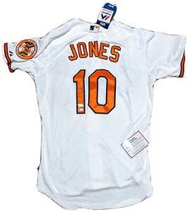 Adam Jones Orioles Signed AUTHENTIC Majestic Jersey NWT Fanatics CoA Size 44