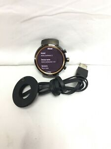 ASUS - ZenWatch 3 Smartwatch 45mm Stainless Steel - Gunmetal