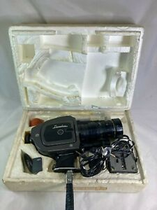 Vintage Beaulieu 4008ZM movie camera w/ Angenieux 8-64mm lens