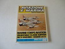 Inter conair n98 1973 aviazione marina-Marine corp aviation-SM79 sparviero-Suffr