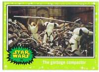 2015 Star Wars Journey To The Force Awakens Green Starfield 34 garbage compactor