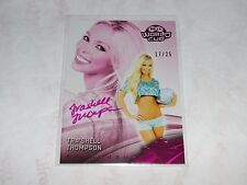 2014 Benchwarmer TRA'SHELL THOMPSON Soccer #23 Pink Foil Autograph Variant/25