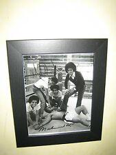 Muhammad Ali & Michael Jackson Lovely Signed Photo Print 10x8 inch Framed