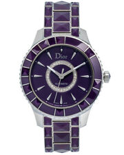 Dior Christal Stainless Steel Diamond Ladies Watch - CD144512M001