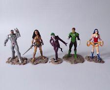 Schleich DC Comics Figure Bundle - Joker, Wonder Woman, Green Lantern & Cyborg
