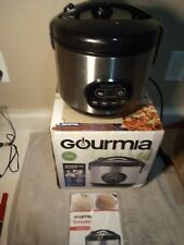 GOURMIA RICE COOKER--MULTIPURPOSE--GRC770---FREE SHIP--GENTLY USED