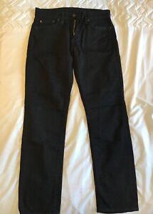 mens levis jeans black W30 L30