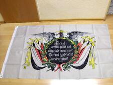 Fahnen Flagge Deutsches Reich Fest und Getreu vor dem Feind - 90 x 150 cm