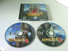 Sim City 4 Two Disc Box Set PC - CD Rom Software Game Building Landscaping Play