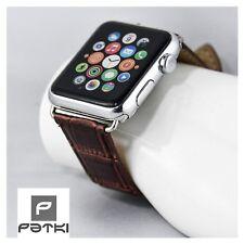 #23 Business Pelle Bracciale in rosse-marroni per Apple Watch (42mm) serie 1/2/3