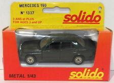 Artículos de automodelismo y aeromodelismo Solido Mercedes