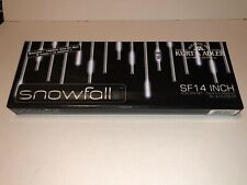 Kurt Adler Snowfall Effect 14-inch 40 LEDs Per Tube Indoor Add-On Set UL2517N