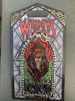 Disneyland Windows of Evil Pin - Scar LE - 2000 Lion King - In Hand.
