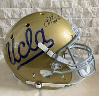 Troy Aikman Signed UCLA Authentic Schutt Helmet With Inscription
