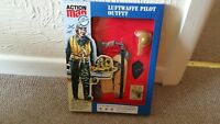 vintage action man 40th anniversary german luftwaffe pilot uniform carded