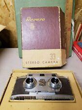VINTAGE  Revere Stereo 33 Camera w/ box