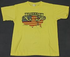 Alabama Vintage 80's 1982 Mountain Music Tour Concert T-Shirt Medium Short