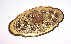 Antique Bijoux de Mode Broche Avant 1945 Décorative