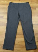 WOMEN'S GRAY STRETCH DRESS PANTS - CHARTER CLUB - SIZE 14