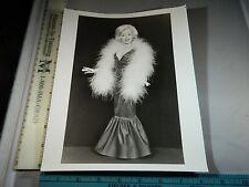 Rare Original VTG Period Marilyn Monroe Type Barbie Doll / Statue Photo Still